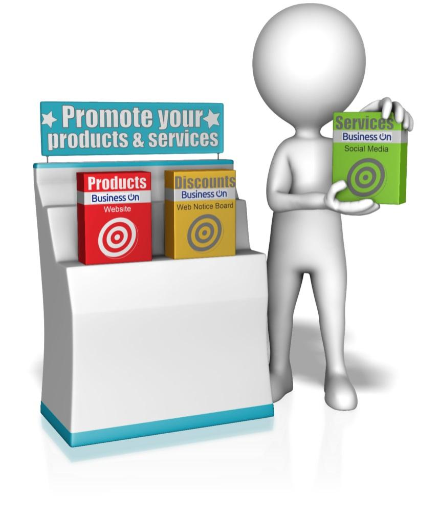 Promote business stand